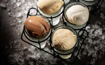 Мороженое и сорбеты в Drinks@Dinners