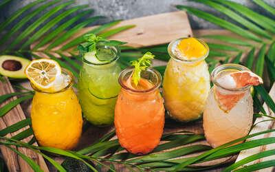 Летние напитки в Tutta La Vita