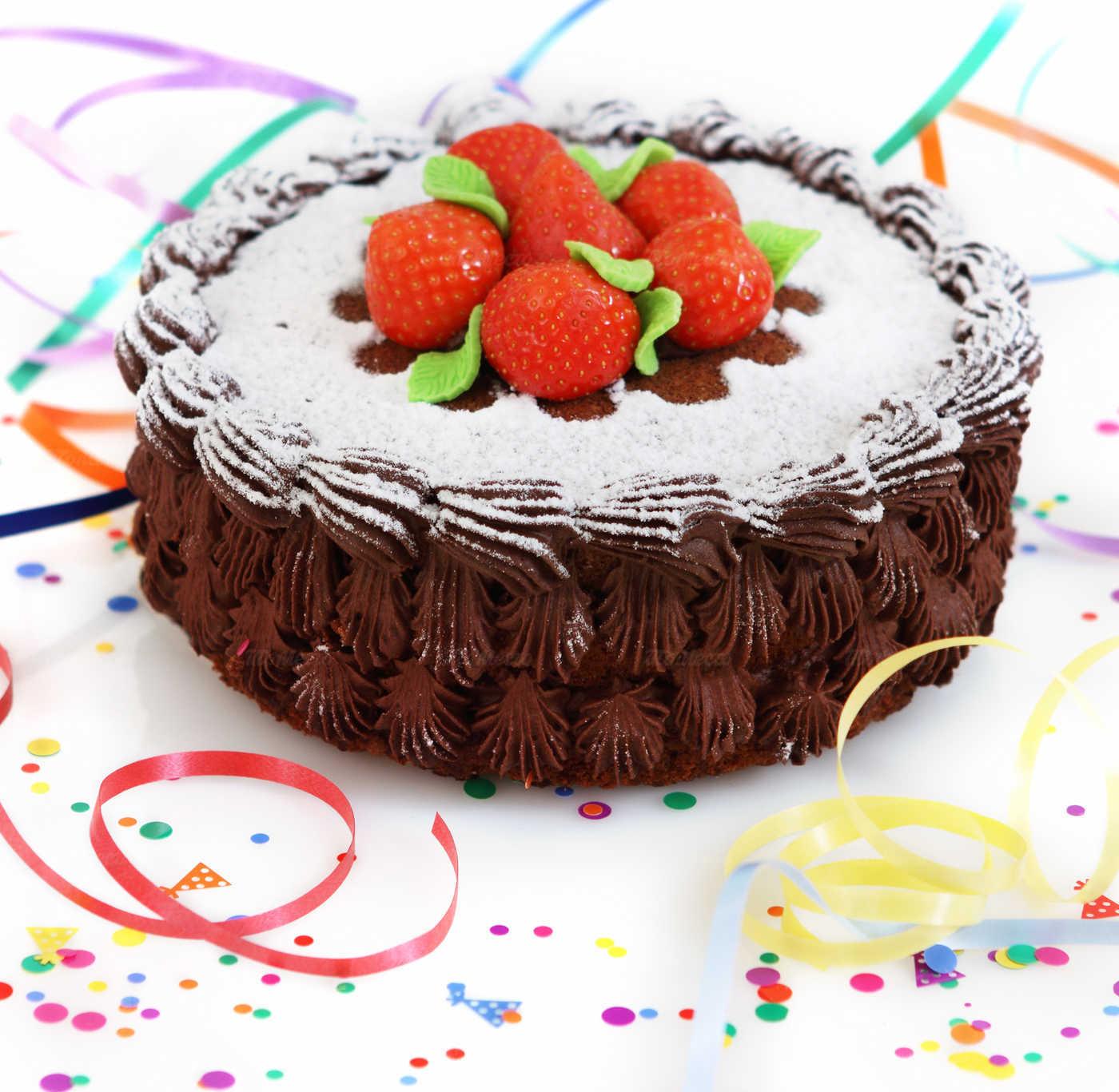 Десерт в день рождения