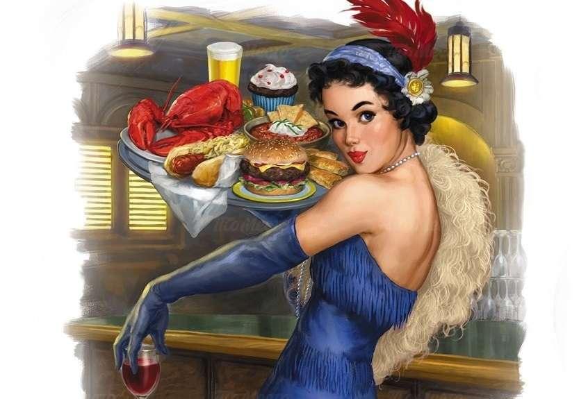 Burger-комбо за 350 рублей