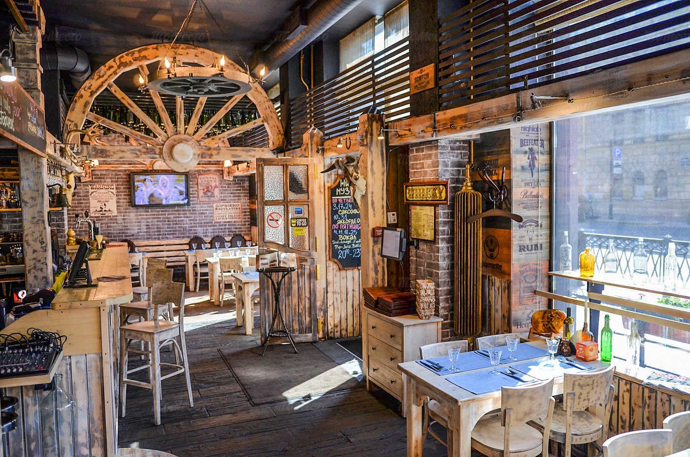 Ресторан Монтана (Montana saloon) на Кирочной улице фото 13