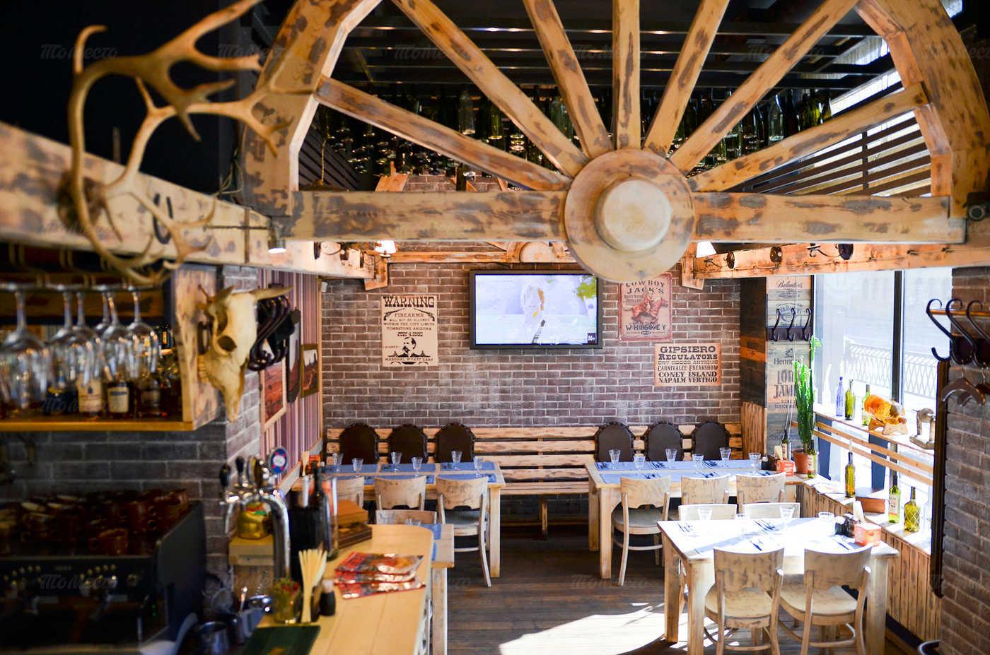 Ресторан Монтана (Montana saloon) на Кирочной улице фото 17