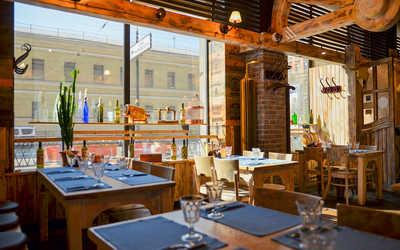 Банкеты ресторана Монтана (Montana saloon) на Кирочной улице фото 2