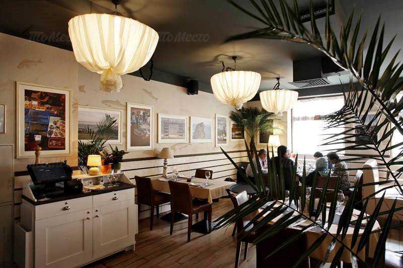 Ресторан Фиш Хаус на Гривцова (Fish House) в переулке Гривцова