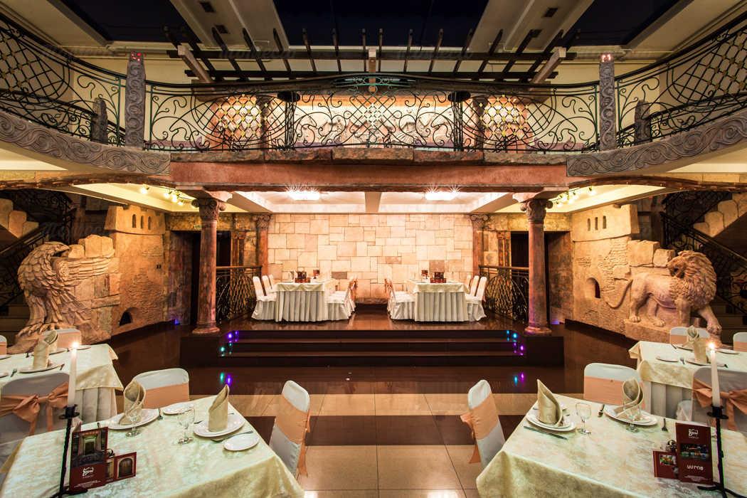 Банкетный зал ресторана Амроц на Невском проспекте фото 9