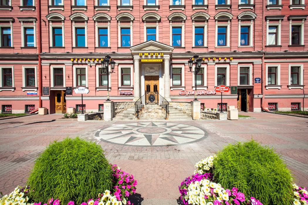 Банкетный зал ресторана Амроц на Невском проспекте фото 7