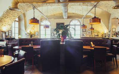 Банкетный зал ресторана Строганов Стейк Хаус на Конногвардейском бульваре фото 3