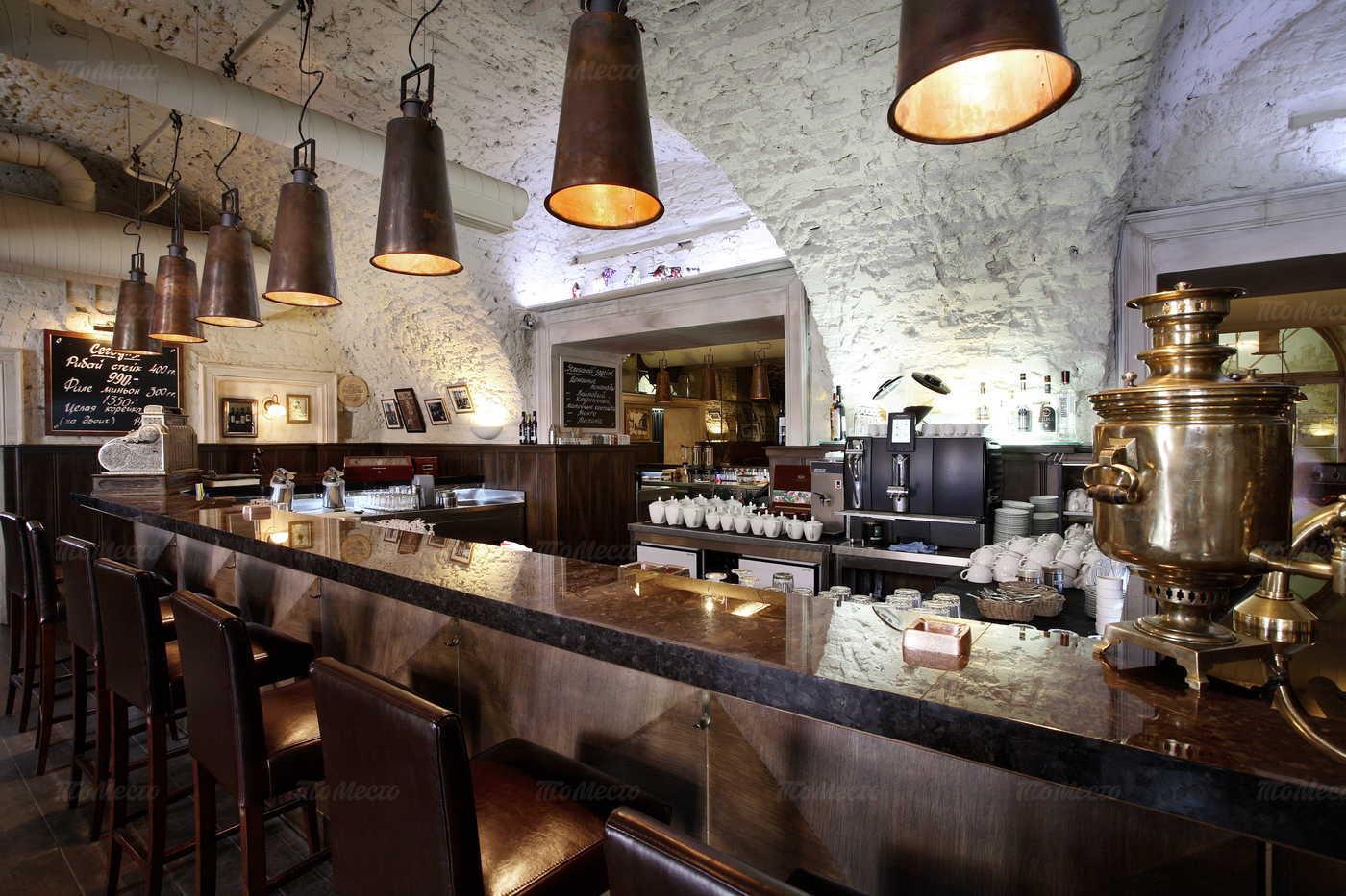 Банкетный зал ресторана Строганов Стейк Хаус на Конногвардейском бульваре фото 7