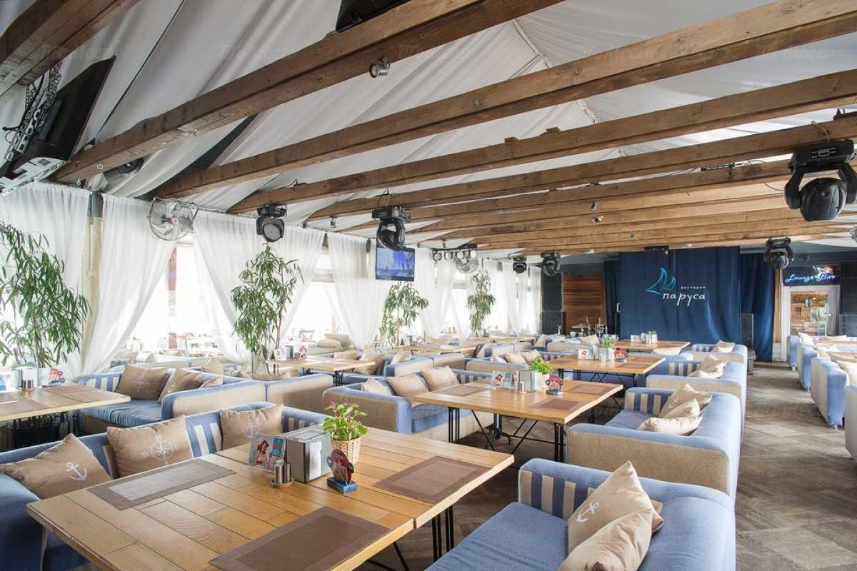 Ресторан Паруса на Петровской косе фото 2