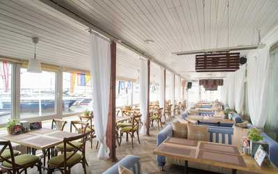 Банкетный зал ресторана Паруса на Петровской косе фото 3