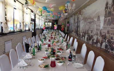 Банкетный зал ресторана Два капитана на улице Ярослава Гашека фото 2