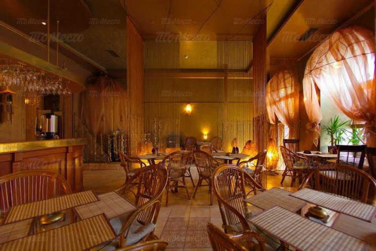 Меню бара, кафе Рубаи (Rubai) на набережной реки Фонтанки