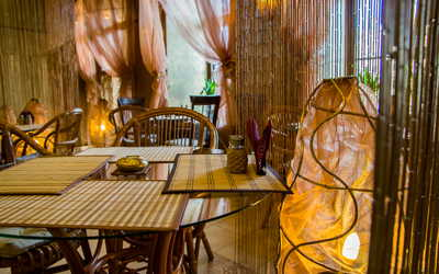 Банкетный зал кафе Рубаи на набережной реки Фонтанки фото 1