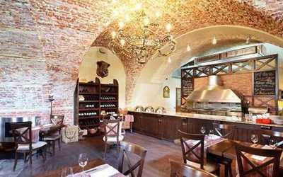 Банкетный зал стейк-хауса Каса дель Мясо (Casa del Мясо) в Биржевом проезде фото 1