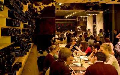 Банкетный зал ресторана, стейк-хауса Коровабар (Korovabar) на Караванной улице фото 1
