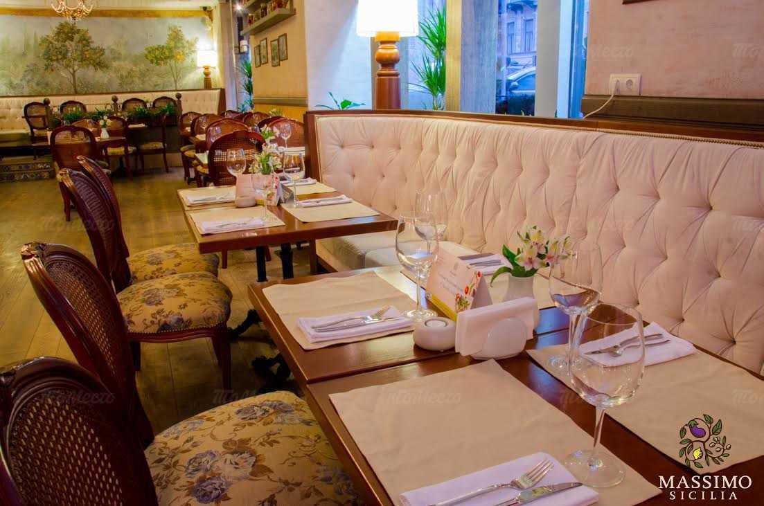 Ресторан Massimo (Массимо) на Большой Морской улице