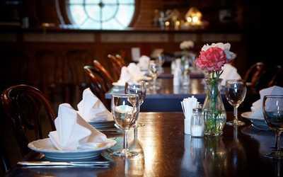 Банкетный зал ресторана Адмиралтейство на Парковой улице