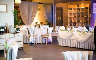 Банкетный зал ресторана Амарена (Amarena) на Гаккелевской улице