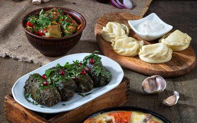 Меню ресторана Арагви на набережной реки Фонтанки фото 3