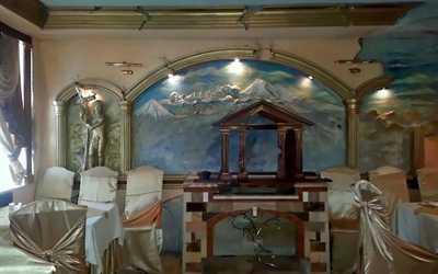 Банкетный зал ресторана АнИ на Софийской улице фото 2