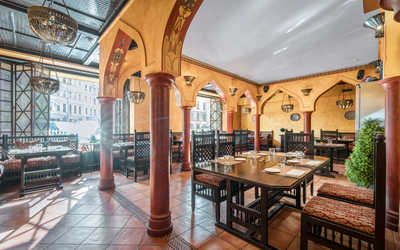 Банкетный зал ресторана Барбария на улице Марата фото 1