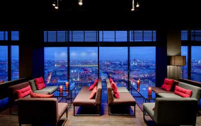 Банкетный зал бара Sky Bar (Скай бар) на Лермонтовском проспекте фото 1