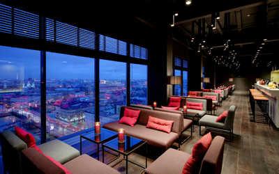Банкетный зал бара Sky Bar (Скай бар) на Лермонтовском проспекте фото 3