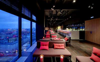 Банкетный зал бара Sky Bar (Скай бар) на Лермонтовском проспекте фото 2