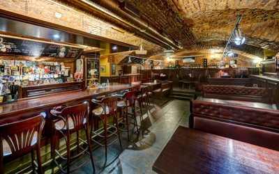 Банкетный зал пивного ресторана Квакинн (KwakInn) на Большом проспекте Васильевского острова фото 1