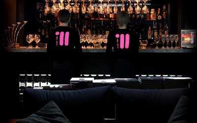 Банкетный зал бара, караоке клуба Music bar 11 (Мьюзик бар 11) на Малой Морской улице
