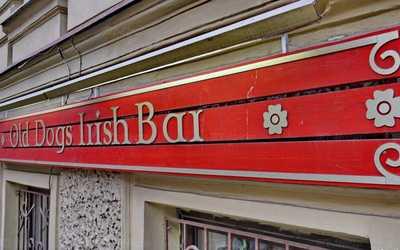 Банкетный зал бара Old Dogs Irish Bar на Садовой улице