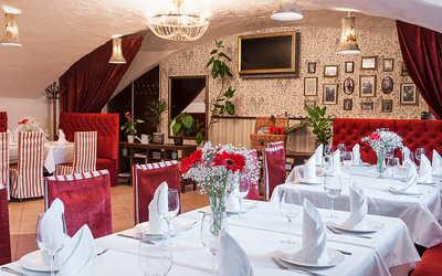 Банкетный зал кафе, ресторана Распутин на набережной реки Мойки