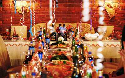 Банкетный зал кафе Изюм на Захарьевской улице фото 1