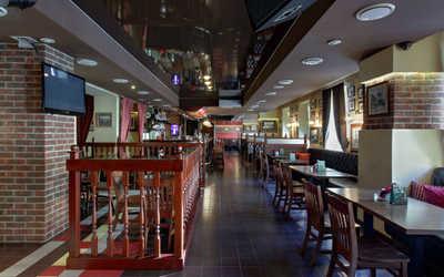 Банкетный зал паба Евро бар (Euro bar) на Лиговском проспекте