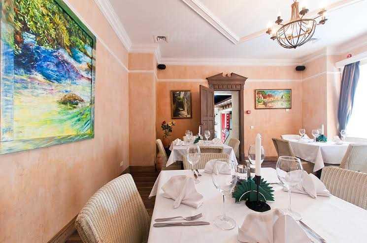 Меню ресторана Via Dell' Oliva на Большой Морской улице