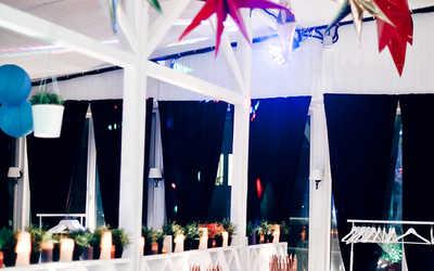 Банкетный зал ресторана OpenFamily на Петровской косе