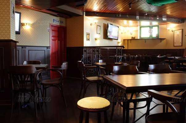 Меню паба, ресторана Радио Ирландия на проспекте Луначарского