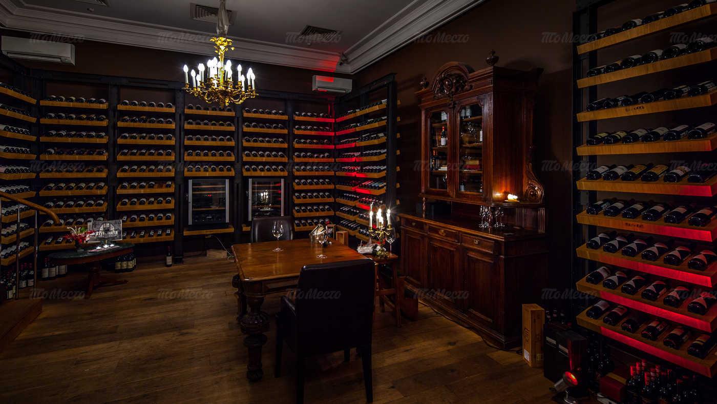 Меню ресторана Палкинъ (Палкин) на Невском проспекте