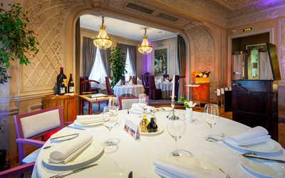 Банкетный зал ресторана Палкинъ (Палкин) на Невском проспекте