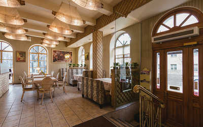 Банкетный зал ресторана Парк Джузеппе в набережной канале Грибоедовой
