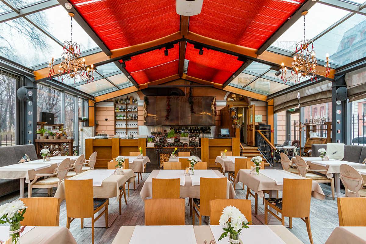Ресторан Парк Джузеппе на набережной канала Грибоедова