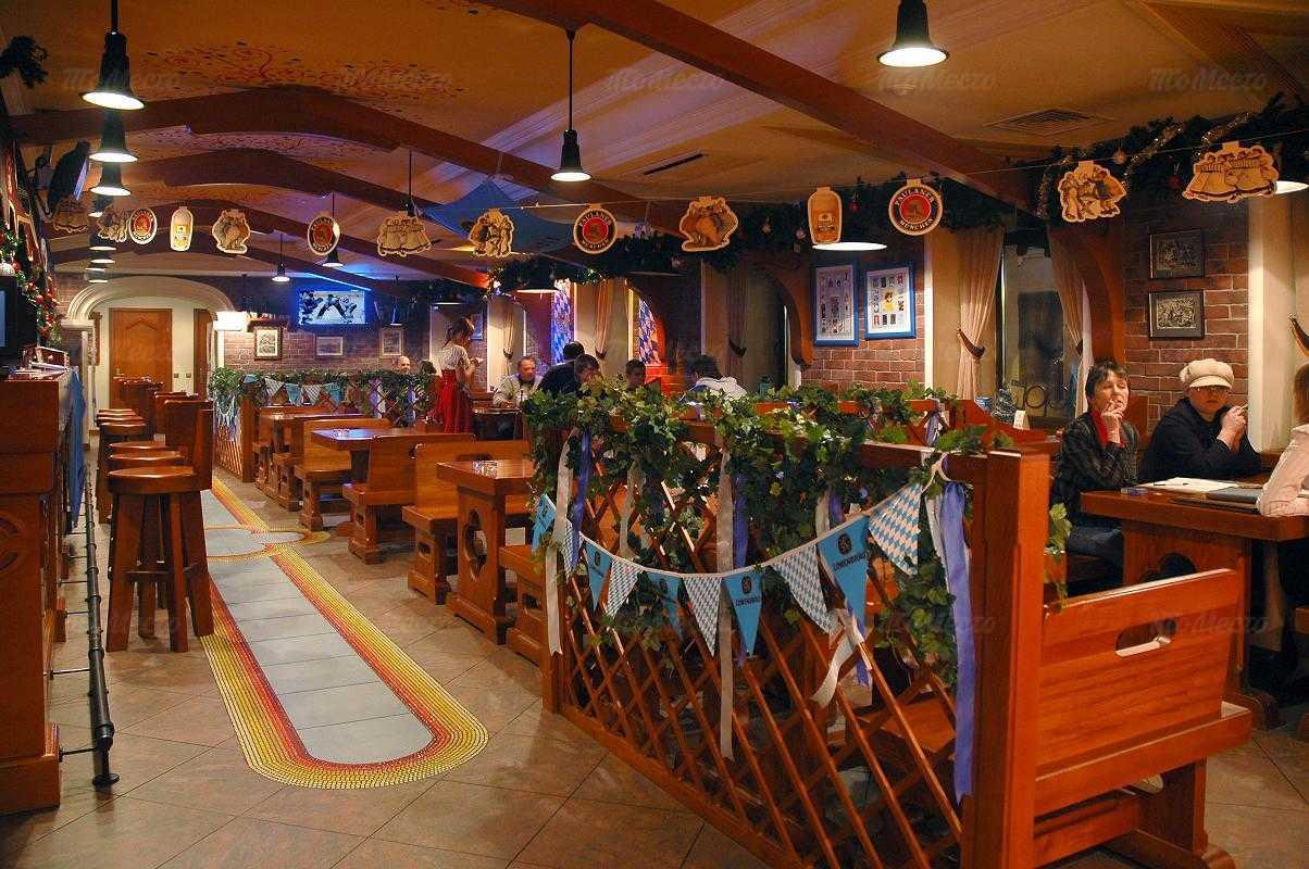 Меню паба, пивного ресторана Бир Кениг (Пивной король) на Гороховой улице