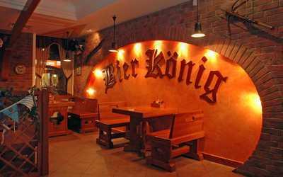 Банкетный зал паба Бир Кениг (Пивной король) на Гороховой улице фото 1