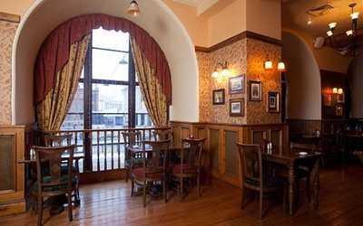 Банкетный зал пивного ресторана William Bass (Уильям Басс) на Лиговском проспекте