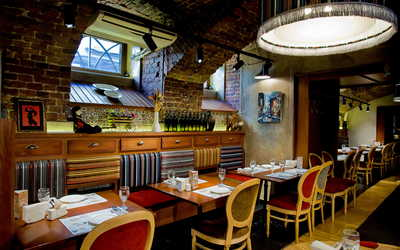 Банкетный зал ресторана Сулико в переулке Сергея Тюленина фото 2