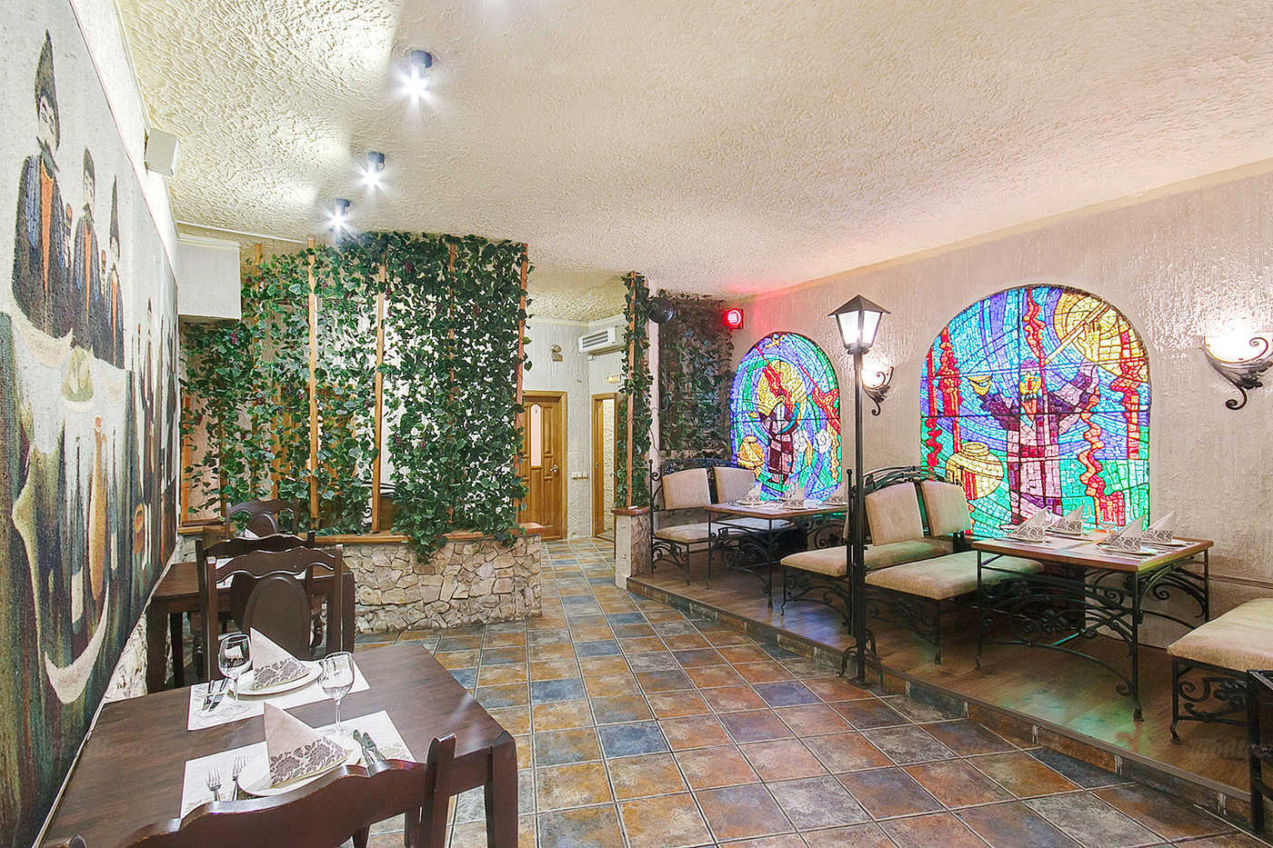 Меню бара, кафе, ресторана Пиросмани на Большом проспекте П.С.