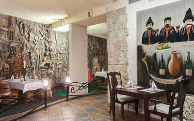 Банкетный зал ресторана Пиросмани на Большом проспекте П.С. фото 2
