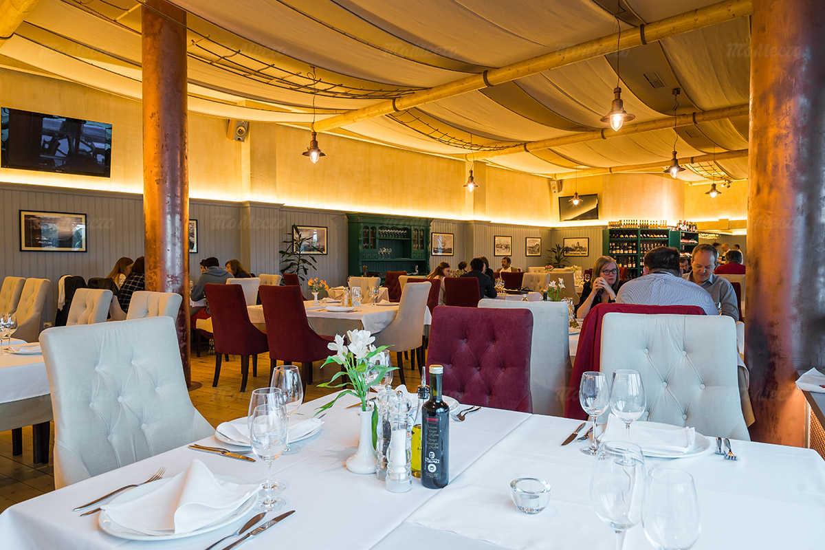 Меню ресторана Порто Мальтезе (Porto Maltese) на Большом проспекте Васильевского острова