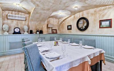 Банкетный зал ресторана Porto Maltese на Невском проспекте