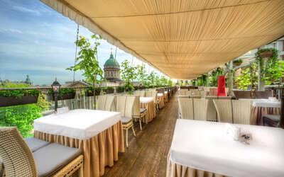 Банкетный зал ресторана Терраса на Казанской улице